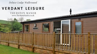 AD Gifted Press Stay | Walkround Deluxe Lodge at Thurston Manor, Verdant Leisure Holiday Park