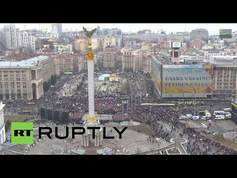 """LIVE: """"March of Truth"""" takes place in Kiev"""