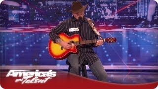 War Hero Brings The Crowd To Tears With His Song and Story -  AGT Season 7 Tim Poe Audition thumbnail