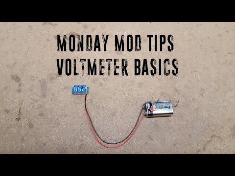 Monday Mod Tips - Voltmeter Basics - YouTube on