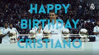 Happy 33rd Birthday to Cristiano Ronaldo!