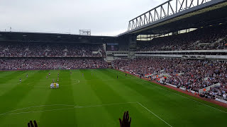 THE LOUDEST EVER IM FOREVER BLOWING BUBBLES WEST HAM UNITED V SWANSEA 7th May 2016