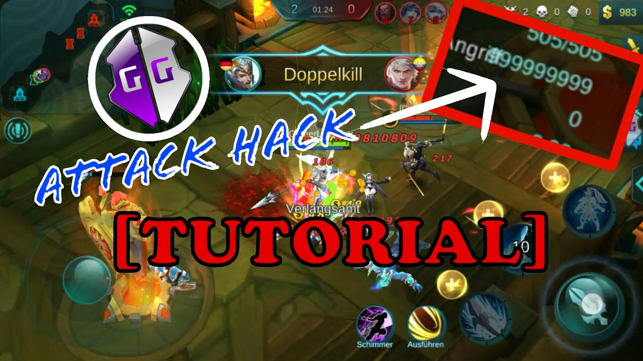 How To Hack Mobile Legends With Gameguardian 100 Working 2017