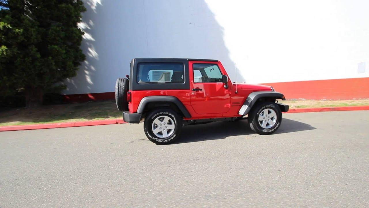 2015 Jeep Wrangler Sport Firecracker Red Fl761614