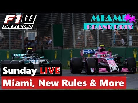 Sunday Live Replay: Miami, New Rules, K-Mag And More
