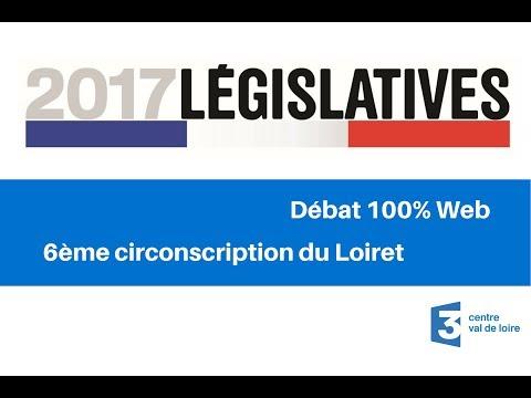 Débat 100% Web : 6ème circonscription du Loiret pour les élections législatives
