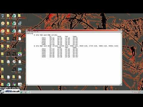 Gigabyte Ryzen RAM overclocking.