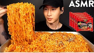NUCLEAR FIRE NOODLES CHALLENGE! 2X SPICY | THANK YOU FOR 1 MILLION SUBSCRIBERS!! | Zach Choi ASMR