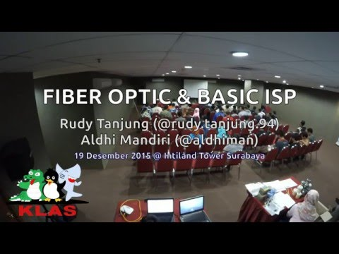 Cangkrukan KLAS - Fiber Optic dan Basic ISP - Full