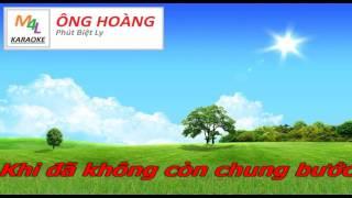 [Karaoke] Phút Biệt Ly - Song ca