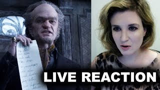 Netflix's A Series of Unfortunate Events Trailer Reaction