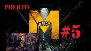 Metro Last Light Gameplay Walkthrough español Xbox360   Bandidos y gambas HD AVI Parte 5