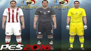 COMO HACER EN UNIFORME DE PARAGUAY  PES 2016