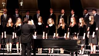 Southwest High School Chamber Singers Winter Concert 2013:I Am the Rose of Sharon