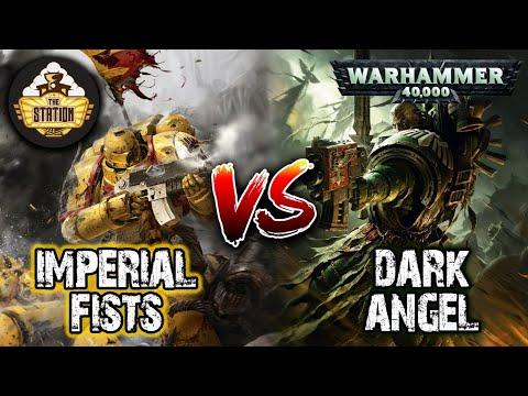 Репорт | Imperial Fists Vs Dark Angel | Warhammer 40k