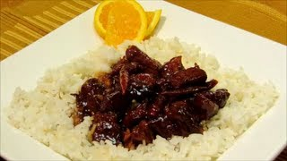 How To Make Orange Pork - Easy Chinese Food Recipe