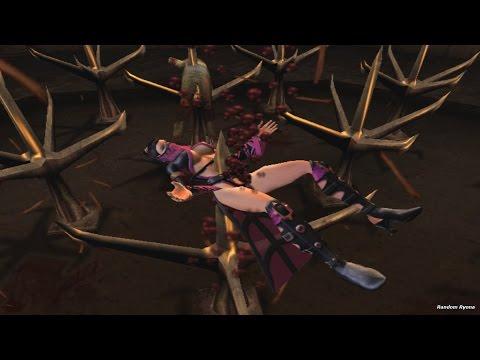 Mortal Kombat Armageddon All Stage Fatalities on Mileena (HD)
