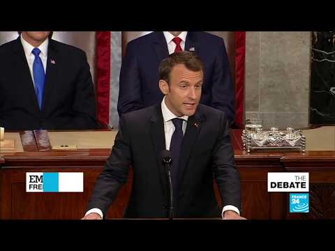 Macron on Capitol Hill: Speech Before Congress Emphasizes 'Democratic Values'