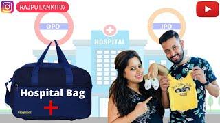 !! HOSPITAL BAG FOR NEW BORN BABY !!  #vlog #01