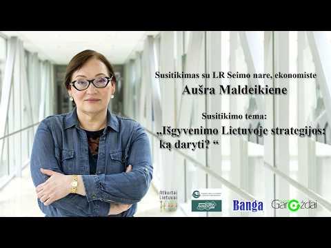 Susitikimas su Lietuvos Respublikos Seimo nare Aušra Maldeikiene