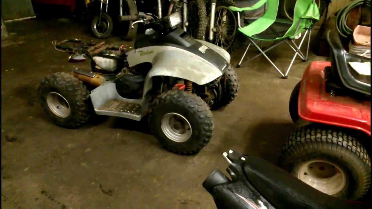 Yard Sale Find - ATV and Dirt Bike
