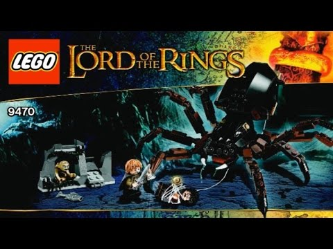 Набор LEGO 79000 обзор Логово Голума Хоббит/Hobbit - YouTube