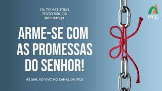 CULTO MATUTINO - 16/08/2020