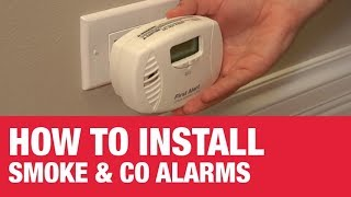 How to Install Smoke Alarms & CO Alarms - Ace Hardware