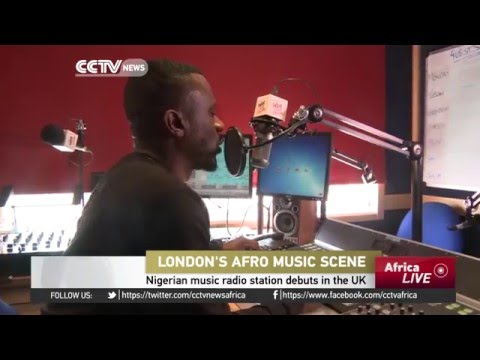 Nigerian music radio station debuts in the UK