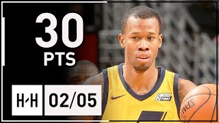 Rodney Hood Full Highlights Jazz vs Pelicans (2018.02.05) - 30 Points off the Bench!