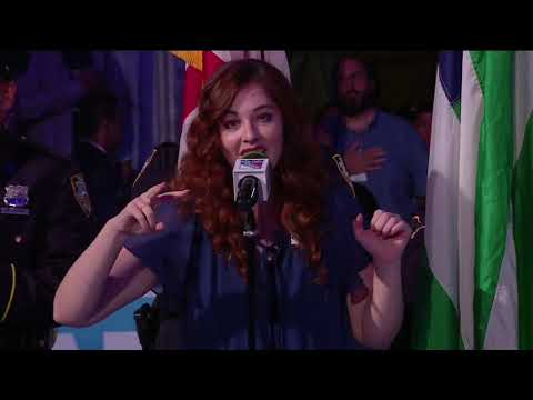 Mandy Harvey National Anthem