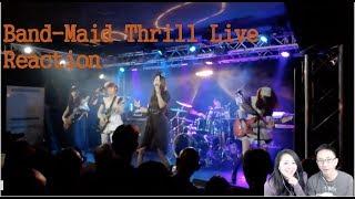 BAND-MAID Thrill Live | リアクションビデオ Reaction