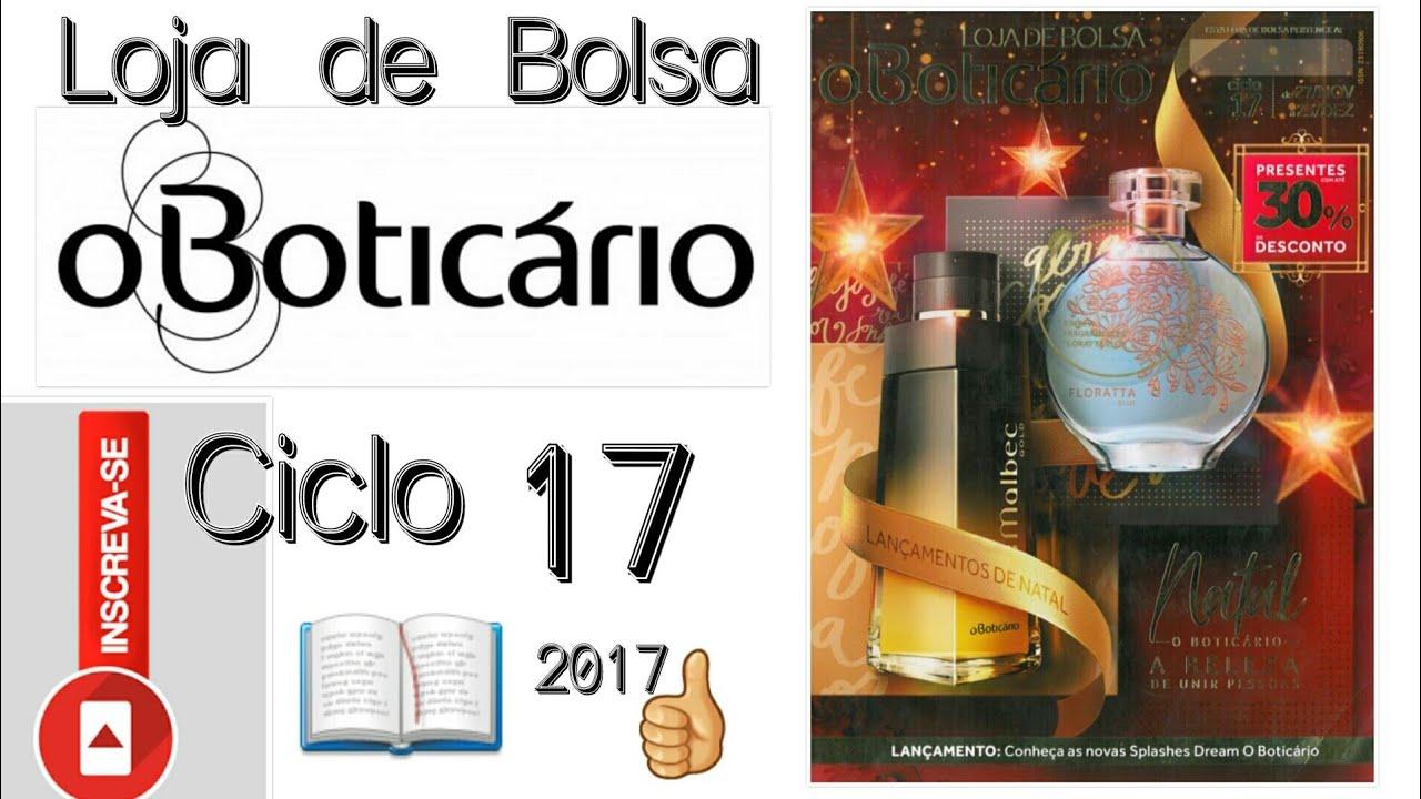 377209d3a8cfa Revista - Loja de Bolsa O Boticário Ciclo 17 2017