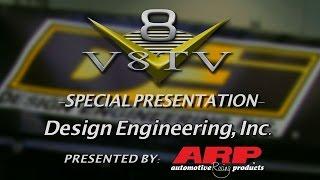 Underhood Heat Management, Turbo and Header Wraps From Design Engineering SEMA 2015 V8TV Video