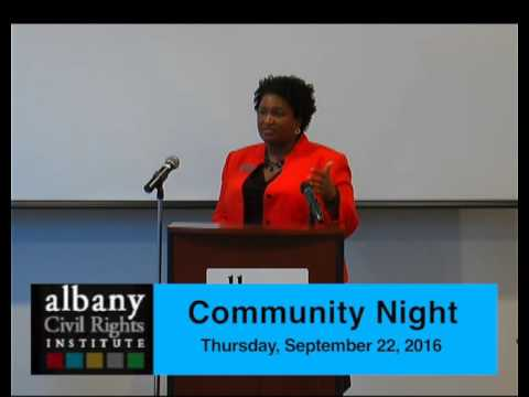 Stacy Abrams Speaks at ACRI