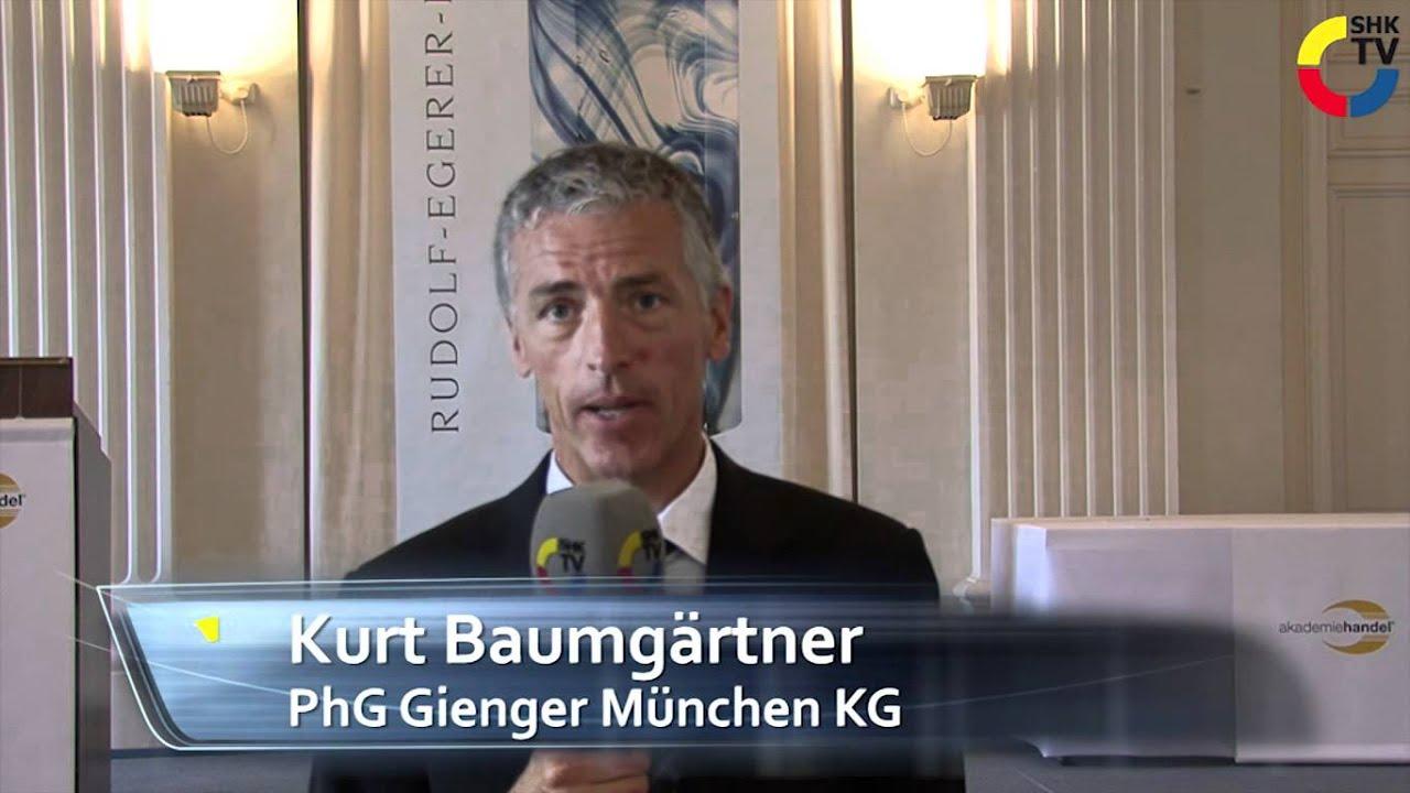 Gienger München shk tv gienger münchen kg erhält rudolf egerer preis
