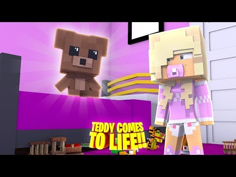 OUR BABY DAUGHTER'S TEDDY BEAR COMES TO LIFE!! Minecraft - Little Donny Adventures