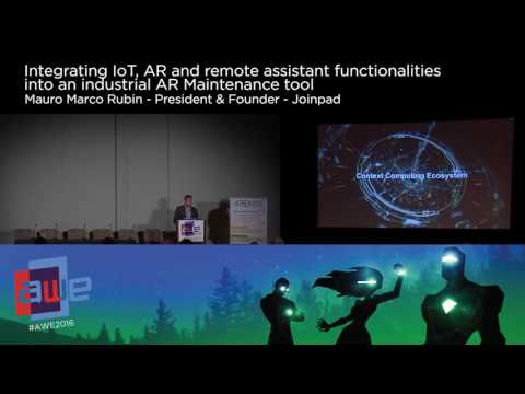 Mauro Marco Rubin (JoinPad) Integrating IoT, AR and Remote Assistant Functionalities