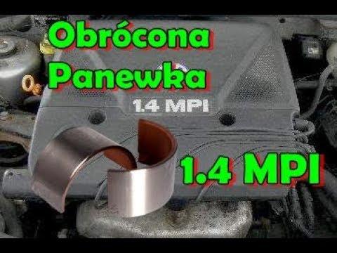 Obrócone Panewki , 1.4MPI Seat Ibiza ANW