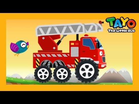 Frank the Fire Truck l Repair Game #1 l Learn Street Vehicles l Tayo the Little Bus