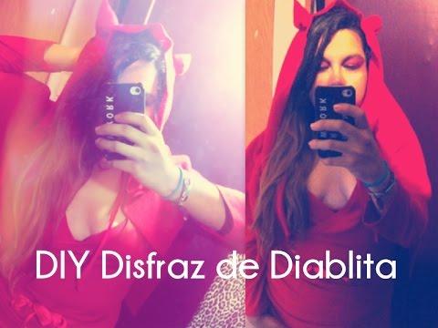 DIY #Disfraz de #Diablita / Diabla FACIL #Halloween