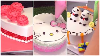Cách làm bánh kem hello kitty - DieuLinhCake