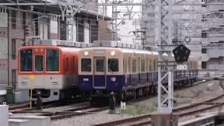 阪神5001F 丘から車庫へ 2018.07.12