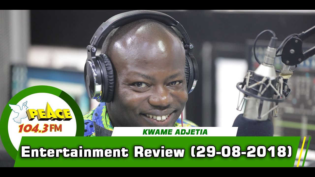 ENTERTAINMENT REVIEW ON PEACE 104.3 FM (29/08/2019)
