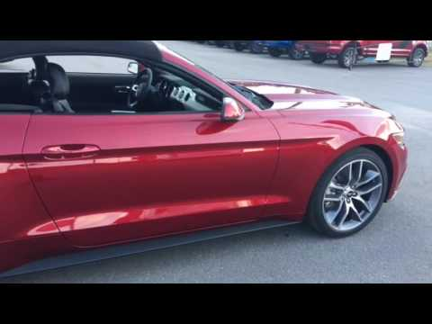 2017 ford mustang ecoboost premium youtube. Black Bedroom Furniture Sets. Home Design Ideas