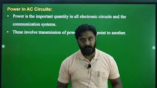 I PUC | ELECTRONICS | AC and DC APPLIED TO PASSIVE COMPONENTS  - 8