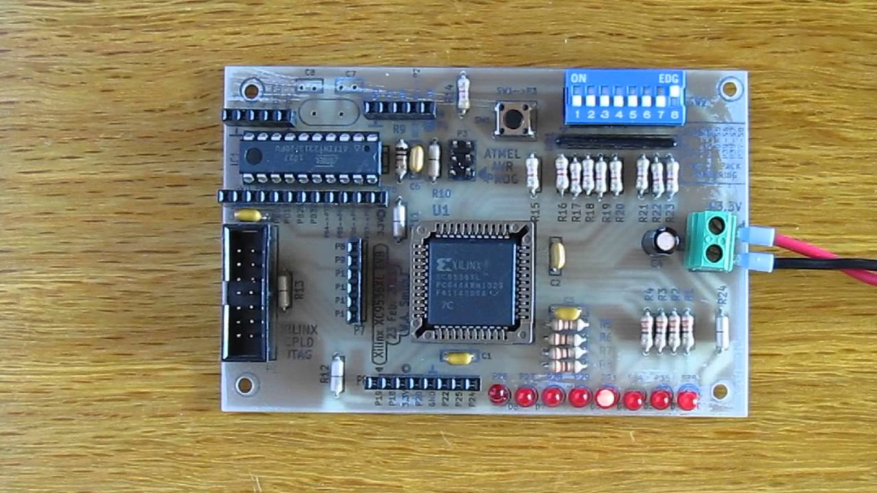VHDL Up/Down Counter