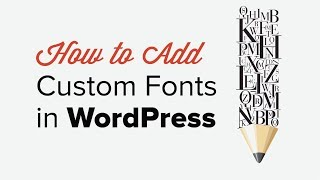 how to Upload Custom Fonts to Wordpress in 2 Minutes - EASY TUTORIAL