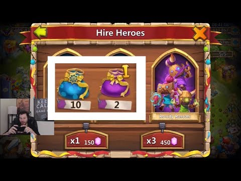 JT's Main Rowdy Rascals Hero Collector HAPPY DAYS! Castle Clash