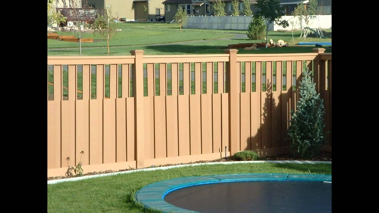 backyard fencing youtube